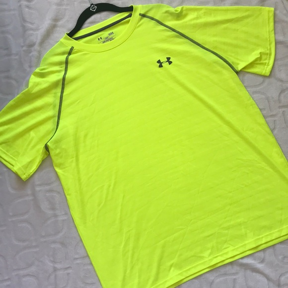Men's Clothing Bright Nwot Mens Under Armour Short Sleeve Shirt* Size Small*